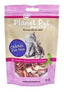 Planet Pet Society Świderki Kurczak/Dorsz 30g