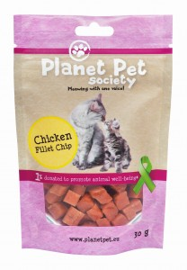 Planet Pet Society Filet z Piersi Kurczaka 30g