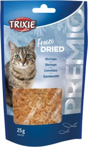 Trixie Freeze Dried Shrimps 25g KREWETKI DLA KOTA